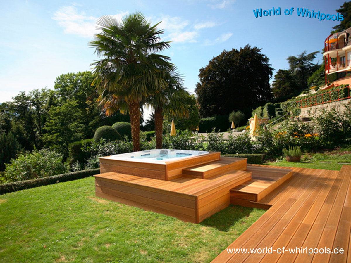 Beautiful outdoor whirlpool garten spass bilder photos for Garten ideen gestaltung